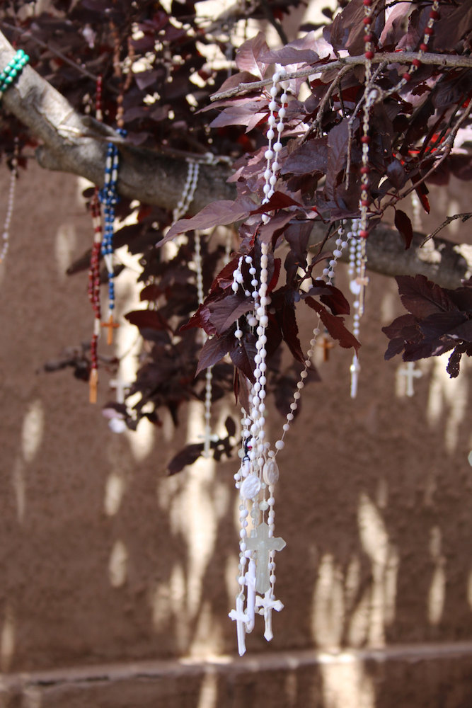 Rosaries (Prayer Tree) Santa Fe, New Mexico - Not Closeup Card