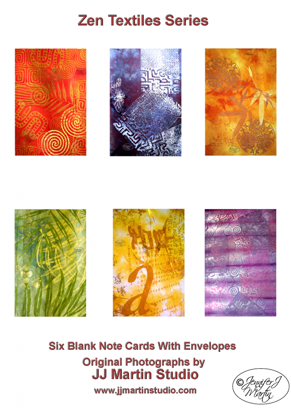 Zen Textile Series - 6 Card Set