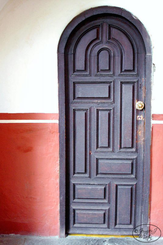 Black Door - Mexico Print