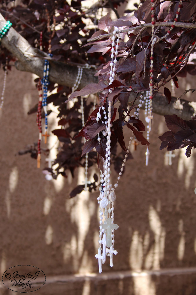 Rosaries - (Prayer Tree) Santa Fe, New Mexico (Not Close Up) PRINT