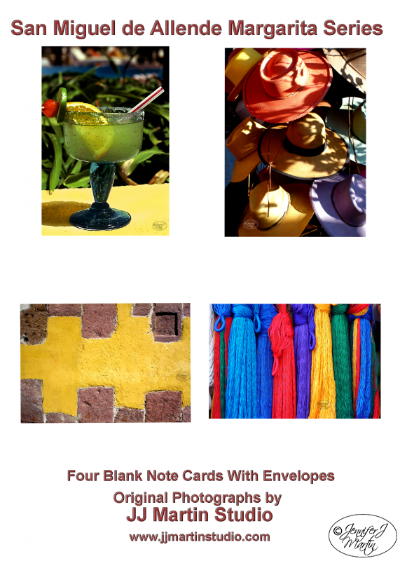 San Miguel de Allende (Margarita Series) - 4 Card Set