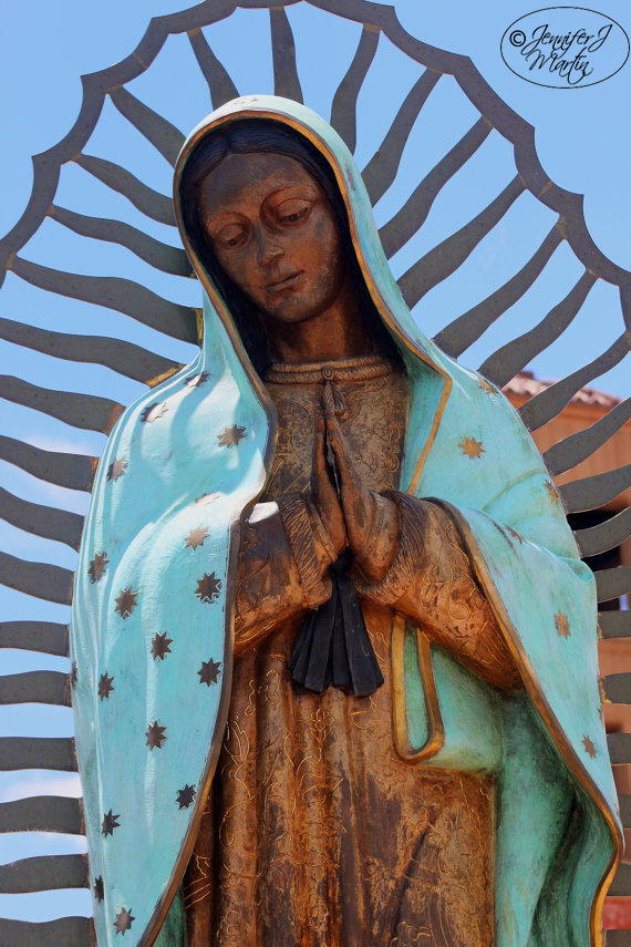 Virgen de Guadalupe - Santa Fe, New Mexico (front view)