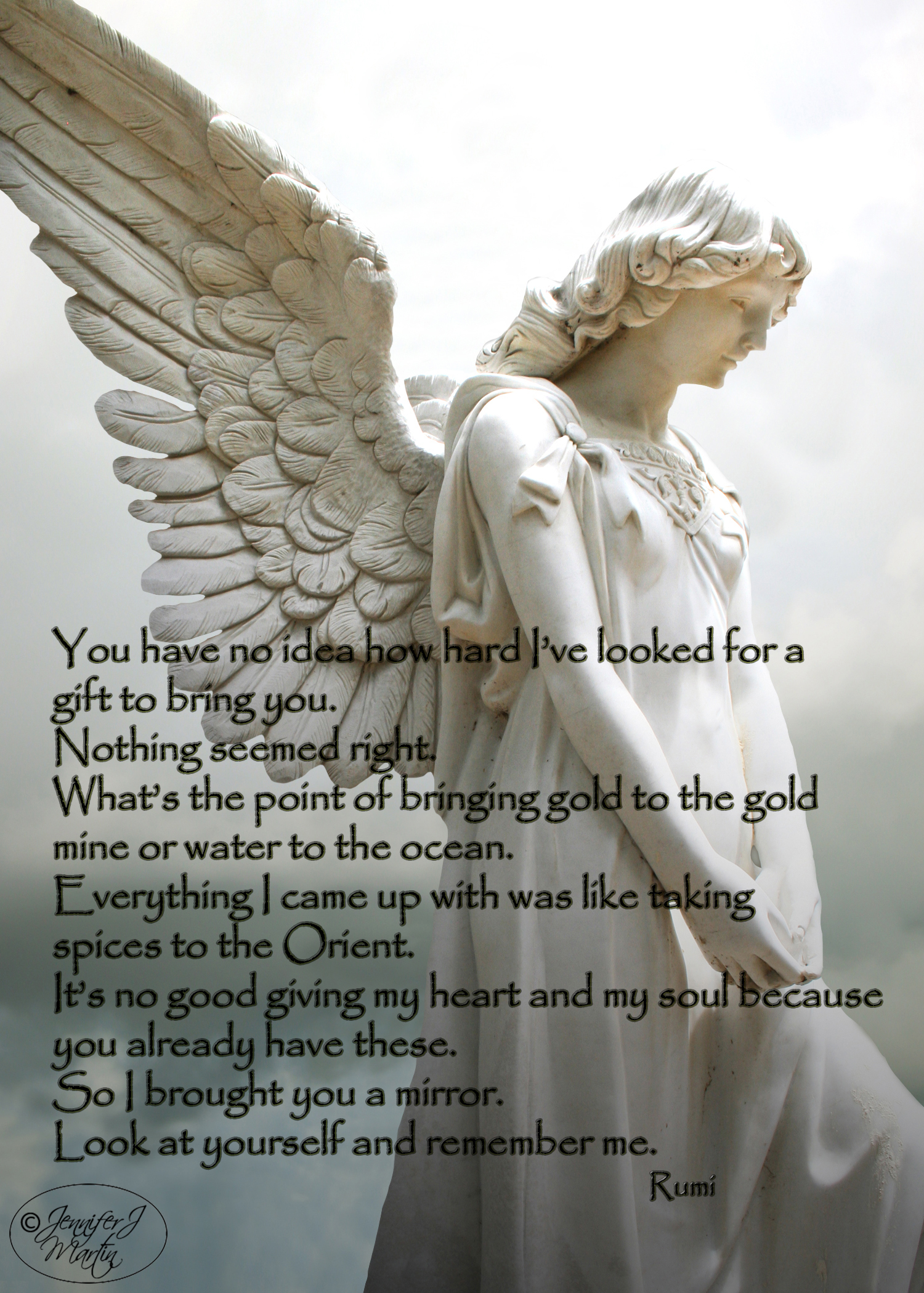 Danny's Angel - Rumi Birthday Verse