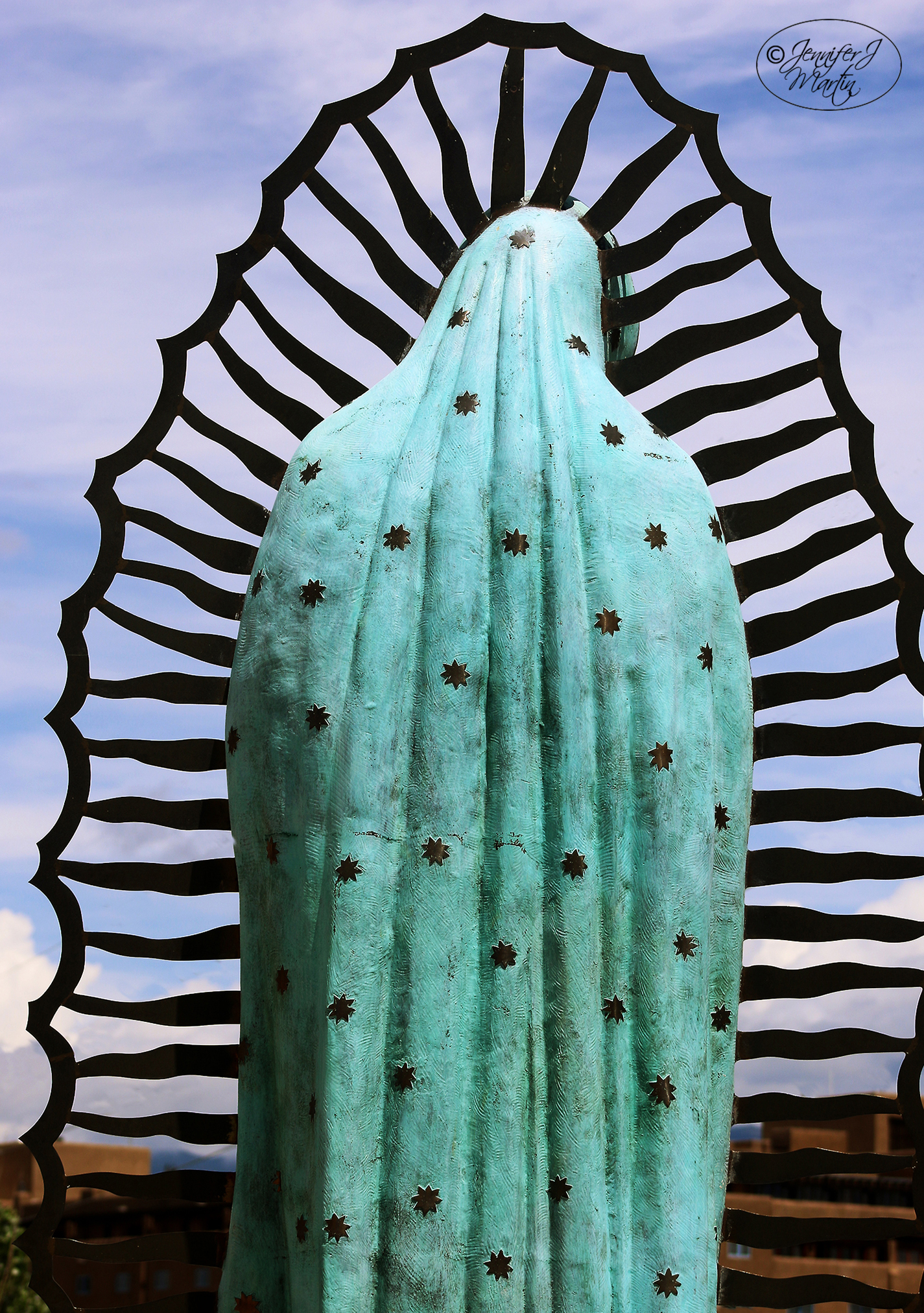 Virgen de Guadalupe - Santa Fe, New Mexico (Mantle with Stars)
