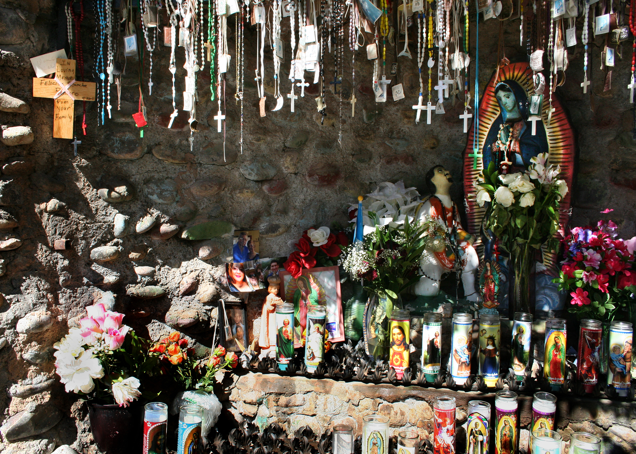 Virgen and Rosaries - Chimayo, New Mexico