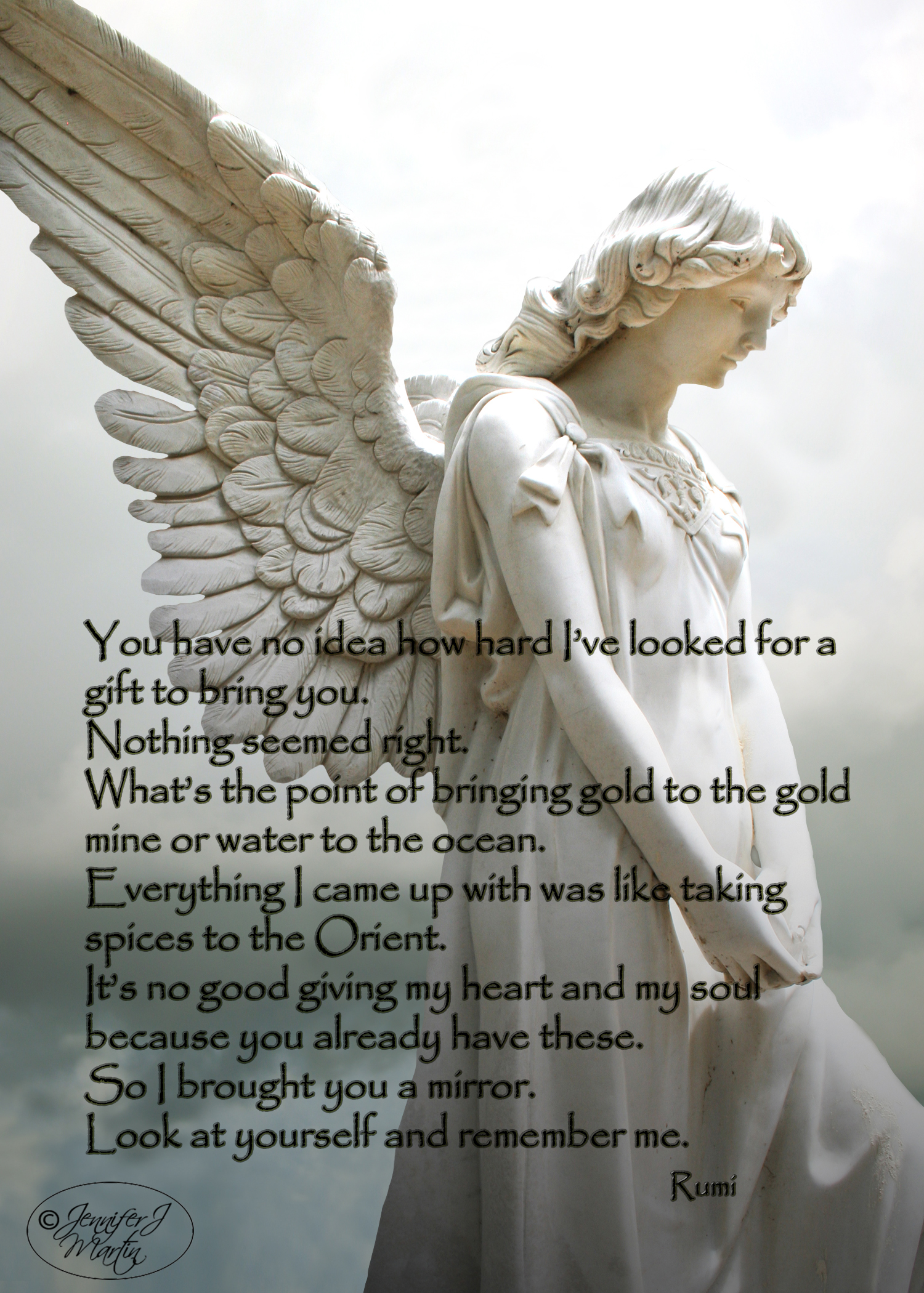 Danny's Angel - Rumi Birthday Quote